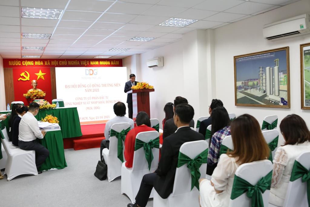 DDG tổ chức thành công Đại hội đồng cổ đông thường niên năm 2021