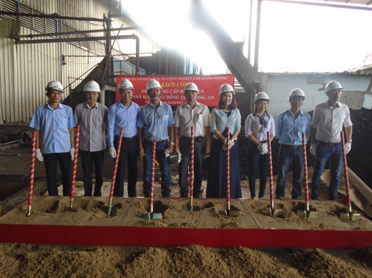 Lễ Khởi Công Dự án cung cấp Hơi - Điện nhà máy Giấy Đồng Tiến - Long An