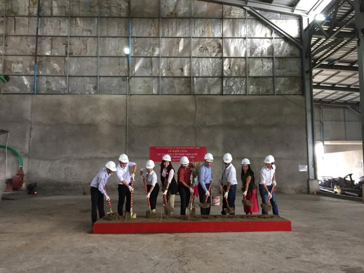 Lễ Khởi Công Dự án cung cấp Nhiệt - Hơi nước Nhà Máy Suntory Pepsico Cần Thơ