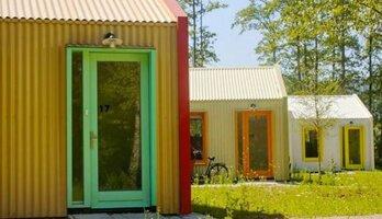 Ngôi làng màu sắc sử dụng năng lượng mặt trời dành cho người vô gia cư ở Hà Lan