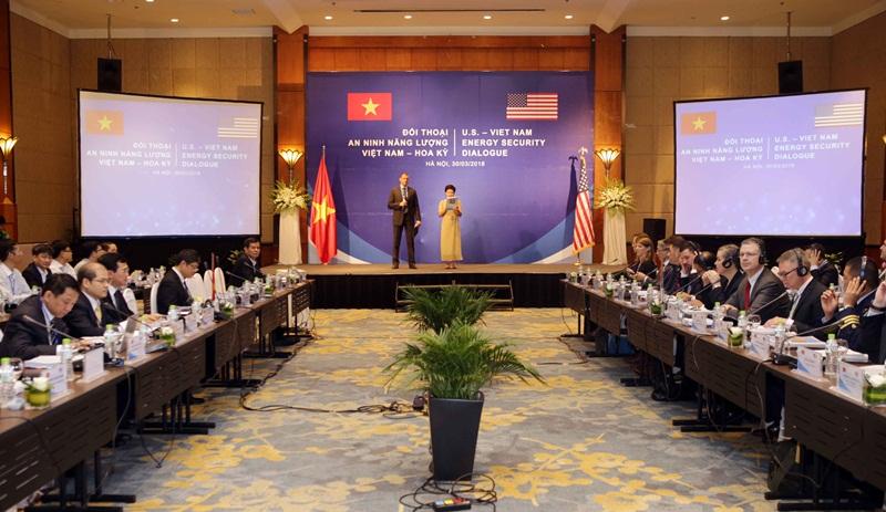 Việt Nam - Hoa Kỳ đối thoại về an ninh năng lượng