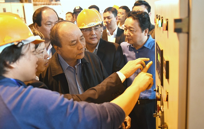 Thủ tướng thị sát công nghệ điện rác đầu tiên của Việt Nam
