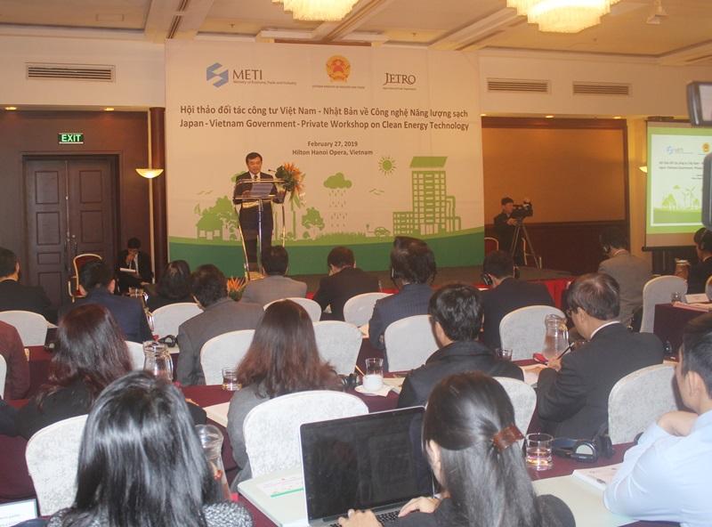 Nhật Bản chia sẻ công nghệ năng lượng sạch cho Việt Nam