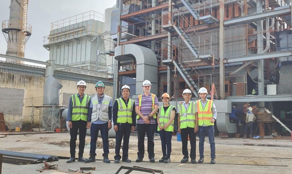 Nghiệm thu và bàn giao dự án cung cấp nhiệt cho nhà máy bia Heineken Việt Nam - Vũng Tàu