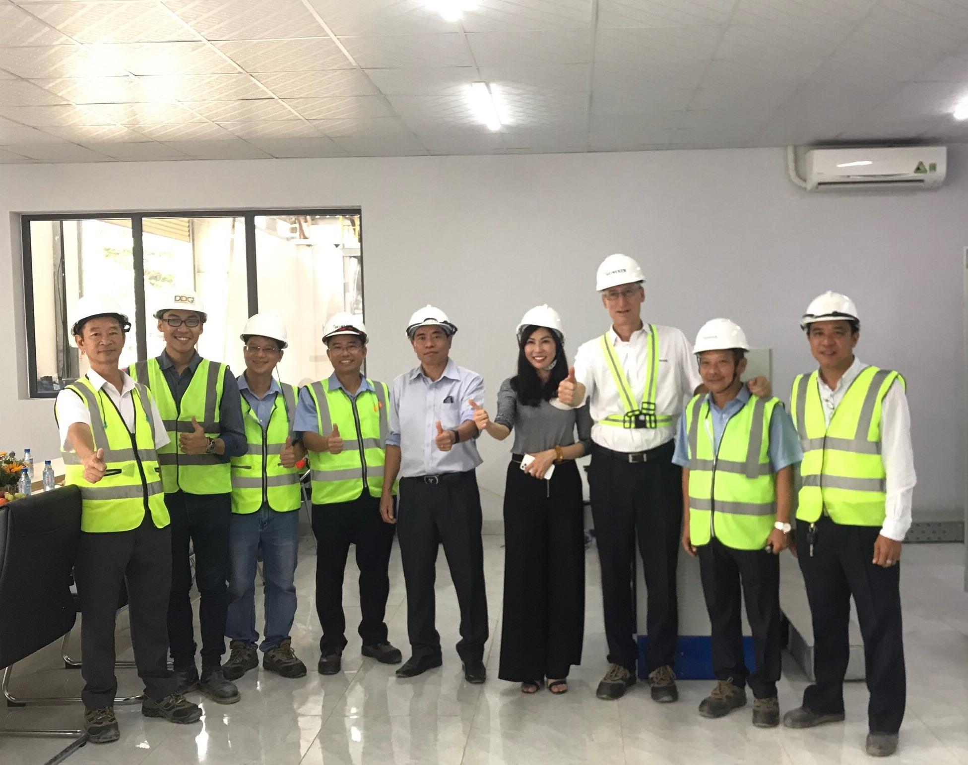 DDG khánh thành dự án cung cấp nhiệt cho nhà máy bia Heineken lớn nhất khu vực Đông Nam Á