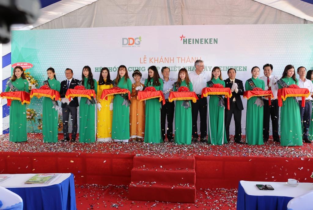 Lễ khánh thành dự án cung cấp nhiệt nhà máy bia Heineken Việt Nam - Vũng Tàu
