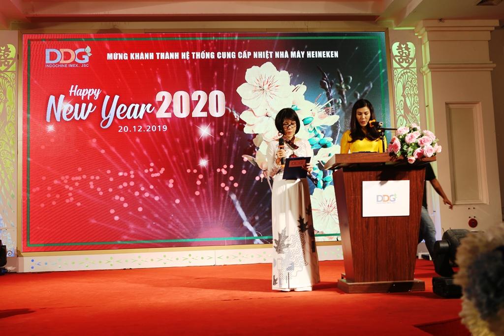 Thư cảm ơn của Bà Trần Kim Sa - Tổng Giám đốc DDG tới quý quan khách tham dự lễ khánh thánh dự án cung cấp nhiệt Nhà Máy Heineken Vũng Tàu