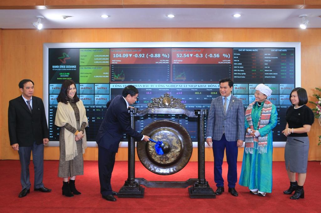 DDG chính thức niêm yết cổ phiếu trên sàn HNX