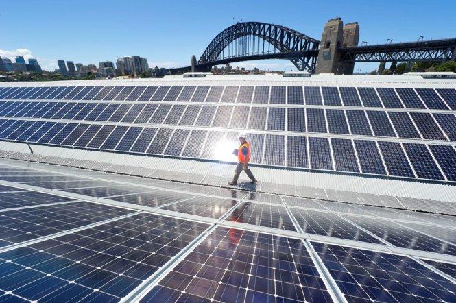 """Năng lượng tái tạo đang """"bùng nổ"""" mạnh mẽ ở Australia"""