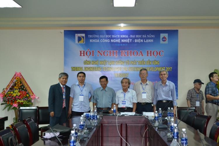 Tiến sĩ Nguyễn Thanh Quang tham dự hội nghị khoa học với chủ đề: Công nghệ Nhiệt – Lạnh hướng tới phát triển bền vững (TETSD2017).