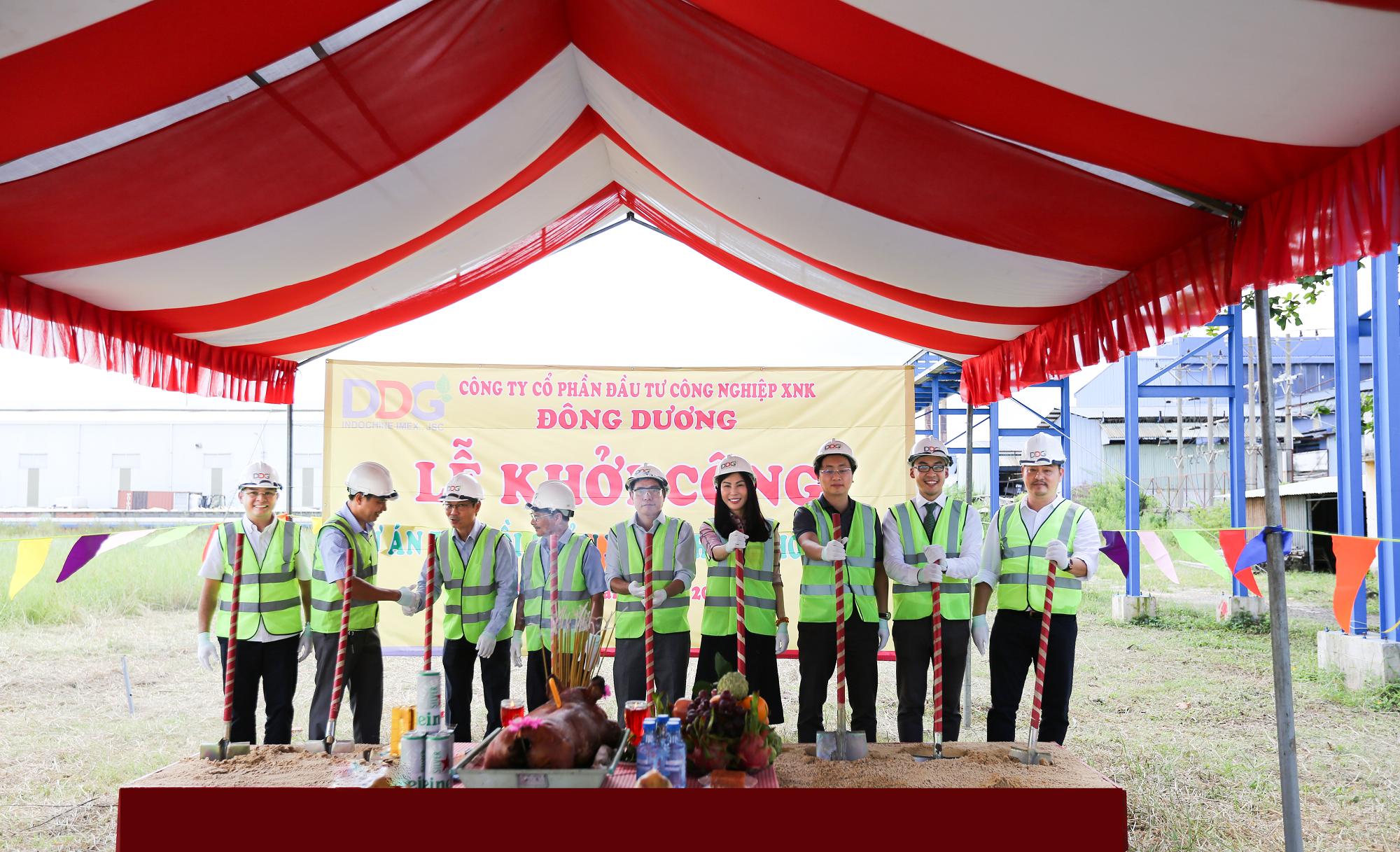 Lễ khởi công dự án Hệ thống thu hồi và sản xuất khí CO2 hóa lỏng