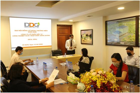 DDG : Tự tin với kế hoạch tăng trưởng doanh thu 20% năm 2020 bất chấp nền kinh tế đang bị ảnh hưởng bởi dịch Covid-19